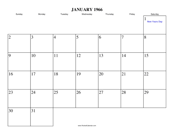 Holidays in January, 1966:: https://www.rocketcalendar.com/calendar/1966-01